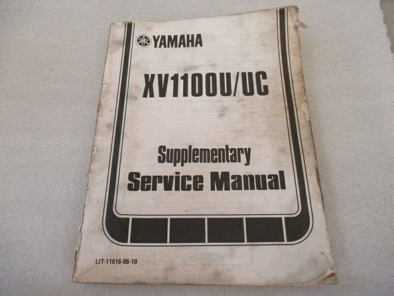 Yamaha XV1100U/UC Supplementary Service Manual P/N LIT-11616-06-10 - $46.50