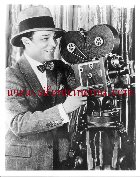 Rudolph Valentino with MITCHELL STANDARD CAMERA 8x10 #2