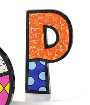 """6"""" Romero Britto Alphabet Letter Figurine Various Freestanding or Wall Mounted image 12"""