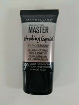 Maybelline New York Master Strobing Liquid Illuminating Highlighter 100 Light - $7.92