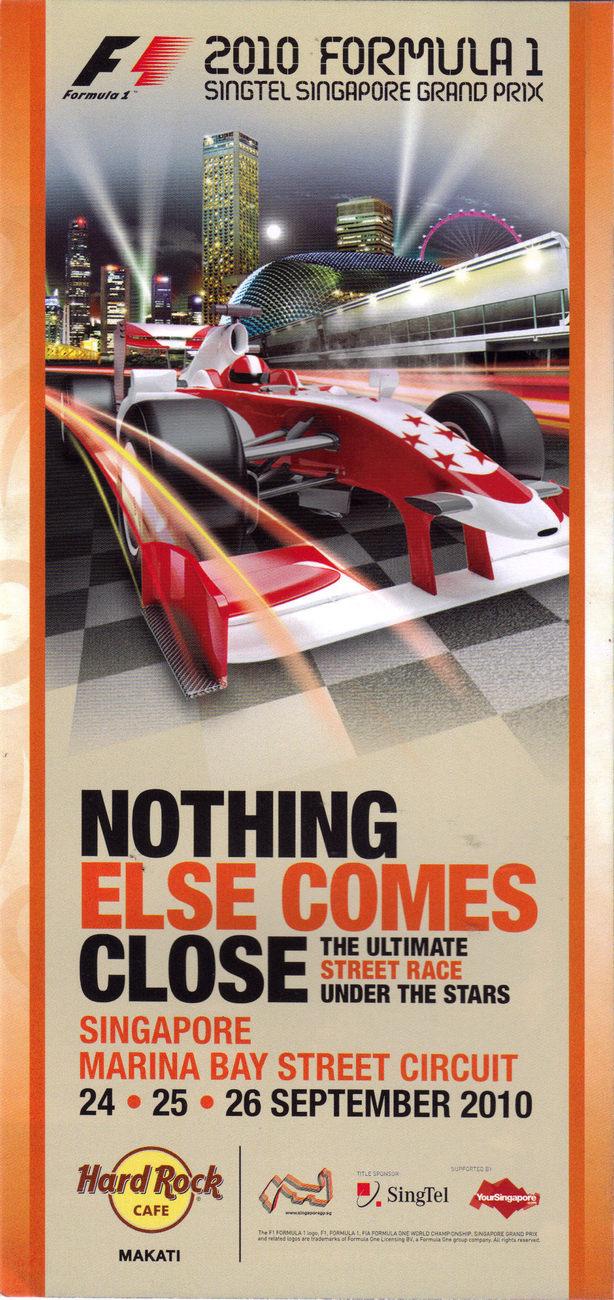 F1 2010 sgpore