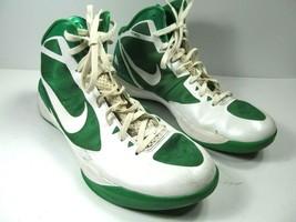 Nike Zoom Hyperdunk Mens Green/White Basketball Shoes Size US 14 EUR 48.5 - $86.33