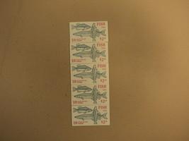 USPS Scott 2205-09 22c 1986 Fish 5 Books OF 10 50 Stamps 10 Panes - $65.91