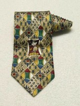 Disney Atlas Design Mickey And Co Abstract Colorful Mickey Mouse Necktie... - $20.78