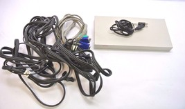 Compaq EO1004A 4 Port KVM Switch w/ Cables - $49.99