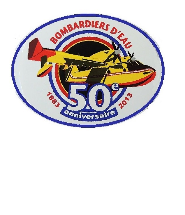 Nce securite civile bombardier d eau 50 years ministere de l interieure small 3.25 x 4.5 in 9.99
