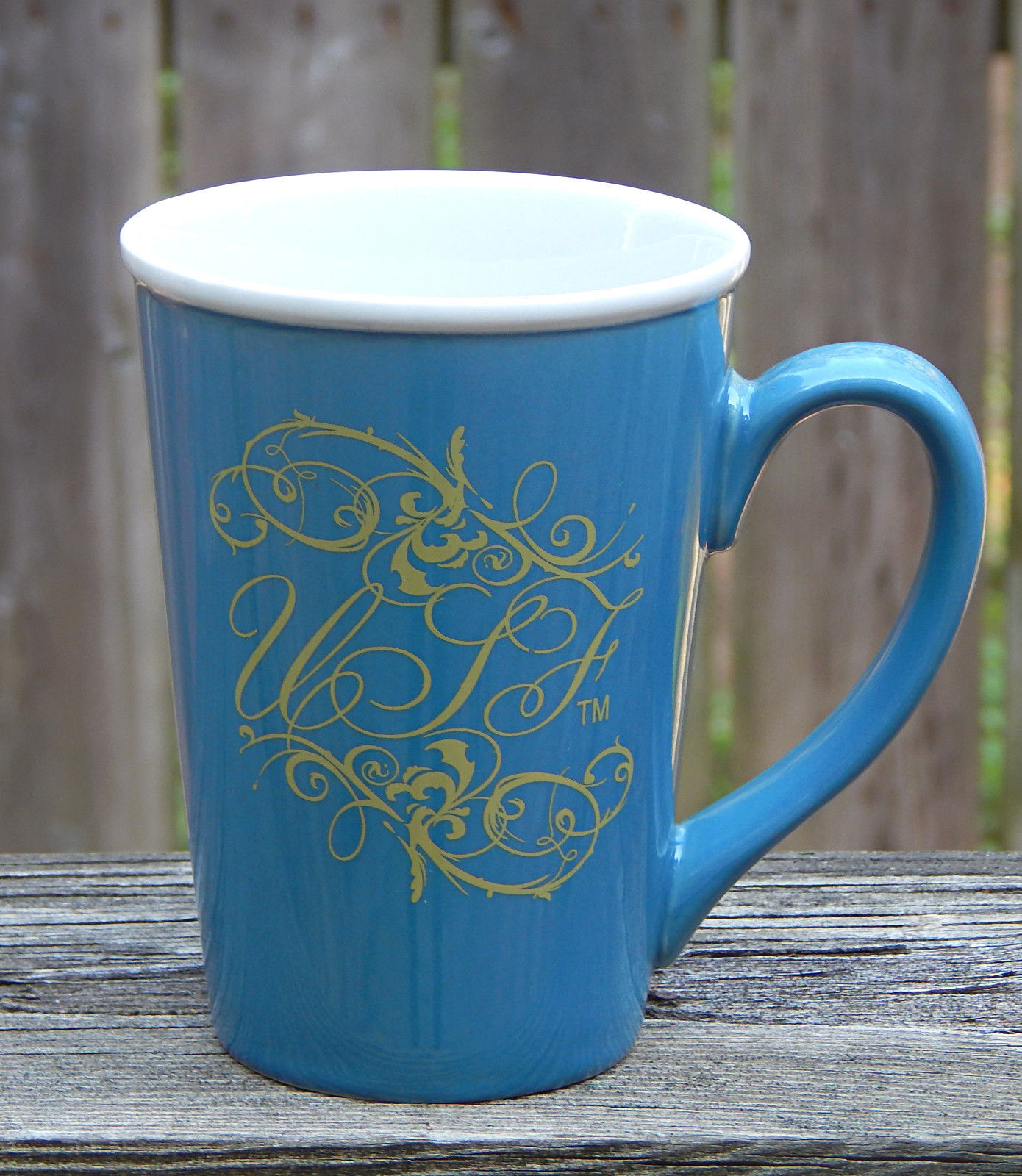 Primary image for University South Florida USF Coffee Mug Large Ceramic 16 oz  Blue White Gold