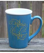 University South Florida USF Coffee Mug Large Ceramic 16 oz  Blue White ... - $12.99