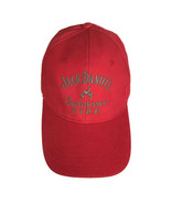 Jack Daniels Tennessee Fire Hat Red Adjustable Cotton Hat Hunting or Fis... - $21.77