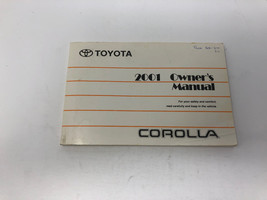 2001 Toyota Corolla Owners Manual OEM Z0M03 - $38.39
