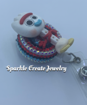 Forky Clay Badge Reel image 2