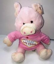 "Fiesta Kids Clubhouse Pig Plush Las Vegas Shirt 11"" Stuffed Animal - $12.86"