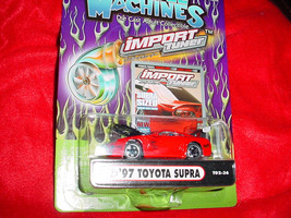 Muscle Machines T02-36 Red Toyota Supra Free Usa Shipping - $11.29