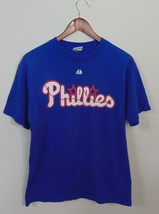 Majestic Mens M Roy Halladay #34 Philadelphia Phillies Jersey Shirt MLB ... - $9.85