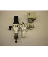 SMC Air Regulator, Filter & Pressure Switch - $88.00