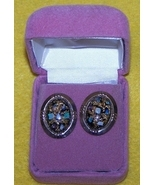 Cufflinks Jade or Rhinestone  - $15.00