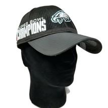Philadelphia Eagles New Era Adjustable Hat 2017 Locker Room Super Bowl 5... - $39.99
