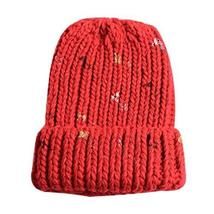 PANDA SUPERSTORE Warm Winter Hat Fashion Wool Hat Soft Stretch Knitted Hat Great