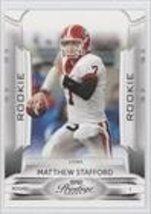 Matthew Stafford Detroit Lions, Georgia Bulldogs (Football Card) 2009 Pl... - $5.95