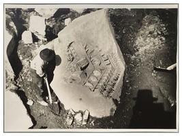 1932 Archeology Dig Archeologist Discovery Rome Venus Photo Underwood News - $49.49
