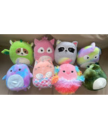 """Squishmallow Summer Collection 2021 COMPLETE SET of 8 Plush 8"""" NEW - $159.99"""