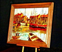 Wonderful Painting with Antique Frame from Europe  AA19-1551 image 3
