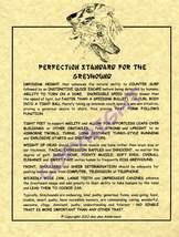 Greyhound Standard - $20.50