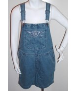 Cherokee Bib Overalls Shorts Denim Blue Size S NWOT  - $15.99