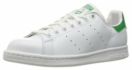 adidas Originals Women's Stan Smith White/Cloud White/Green size 8 B24105 - $58.34