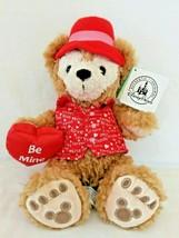 "Duffy The Disney Bear Plush Be Mine Valentine's Day Bear 9"" - $23.70"