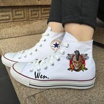 Design Indian Canvas Shoes Men Women Chuck Taylor Converse Sneakers Hi-Top - $119.00