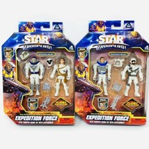 Lanard Space Star Troopers Expedition Force Astronauts Action Figures FULL SET 2 - $28.70