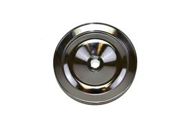 SBC BBC CHEVY CHROME POWER STEERING PULLEY 1 GROOVE V-BELT KEY WAY STYLE 350 454 image 5
