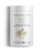 Codeage Grass Fed Beef Liver Supplement - Freeze Dried, Non-Defatted, De... - $29.99