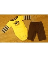 Carter's One-piece with Pants Boy NB 5-8lb. Cotton 7160 - $7.26
