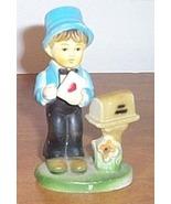 Vintage  Figure Boy Valentine Letter - $10.00