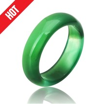 2017 hot sale high quality natural green carnelian crystal ring jewelry ... - $16.42
