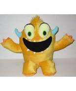 """KOHLS CARES YELLOW MONSTER DON'T PLAY WITH YOUR FOOD 11"""" PLUSH STUFFED D... - $5.99"""