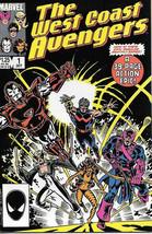 West Coast Avengers Comic Book Vol. 2 #1 Marvel 1985 Near Mint New Unread - $4.99