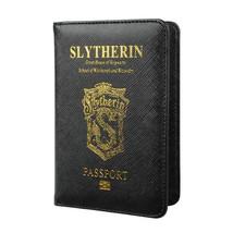 Hogwarts House Passport Cover Id Pass Travel Case Holder Slytherin Gryff... - £11.01 GBP
