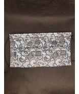 10 pieces Blue Faux lace disposable face mask - $11.00