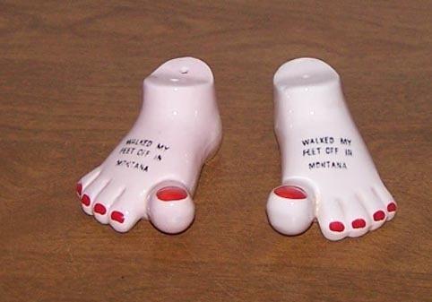 Saltpeper feet