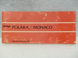 DODGE MONACO & POLARA 1969 Owners Manual 16313 - $18.76