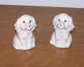 Salt And Pepper Shaker White Dogs - $8.00