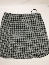 Alympaige Women Skirt  Above Knee Regualr Fit Black White Knit Size 11/12 - $13.06