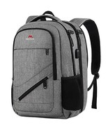Matein Large Backpack, TSA 17 Inch Travel Laptop Backpack with USB Charg... - $43.65