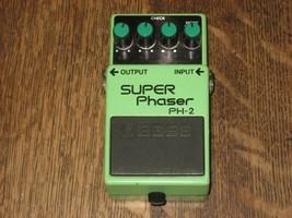 Boss PH-2 Super Phaser, MIJ Nov 1984, Black Label Guitar Effect Pedal Ro... - $112.20