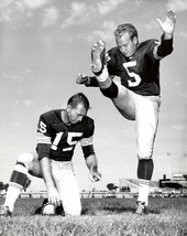 Bart Starr & Paul Hornung 8X10 Photo Green Bay Packers Picture Nfl Football - $3.95