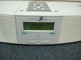 Zenith Clock Radio Stereo Z213W AM/FM/Weather with AUX image 11