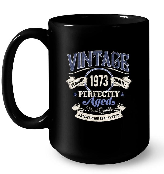 Vintage Made In 1973 45th Birthday Gift Gift Coffee Mug